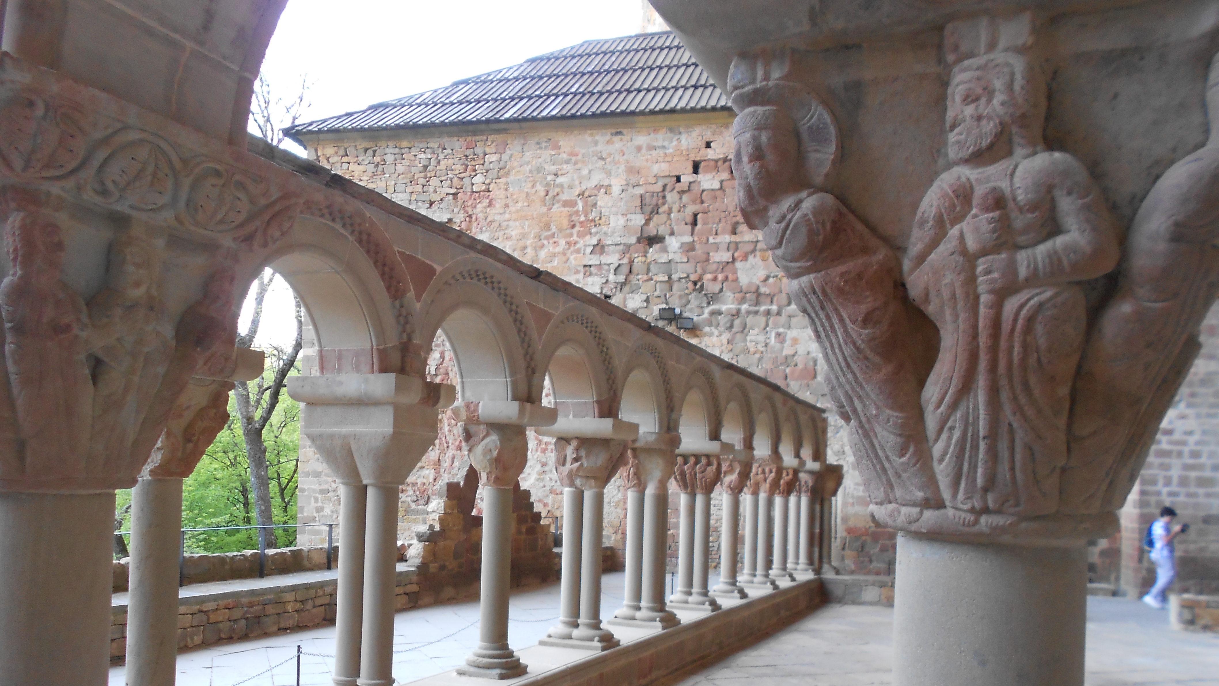 San Juan de la Peña, el claustro